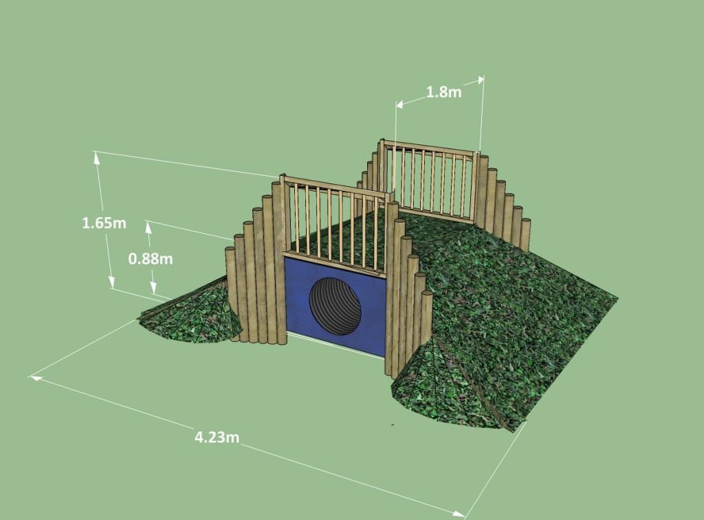 in-ground.mound.tunnel.sketch