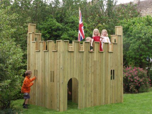 Garden Play Castle Alloutplay